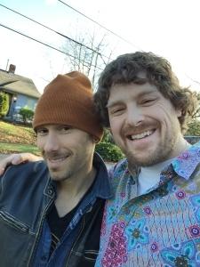 Trevor Oswalt and me