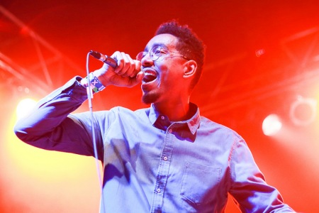 Oddisee performs at Knitting Factory in Boise during Treefort 2016. Photo by Kristen McPeek.
